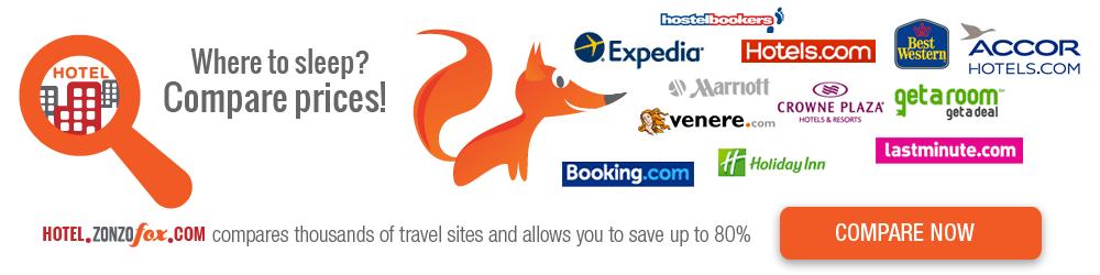 Vergleichen Sie Hotelpreise und sparen Sie bis zu 80%